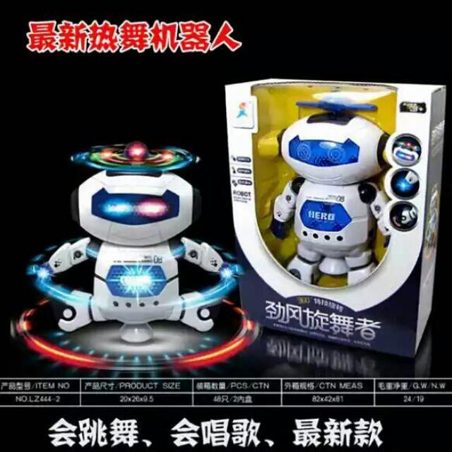 最新熱舞機器人
