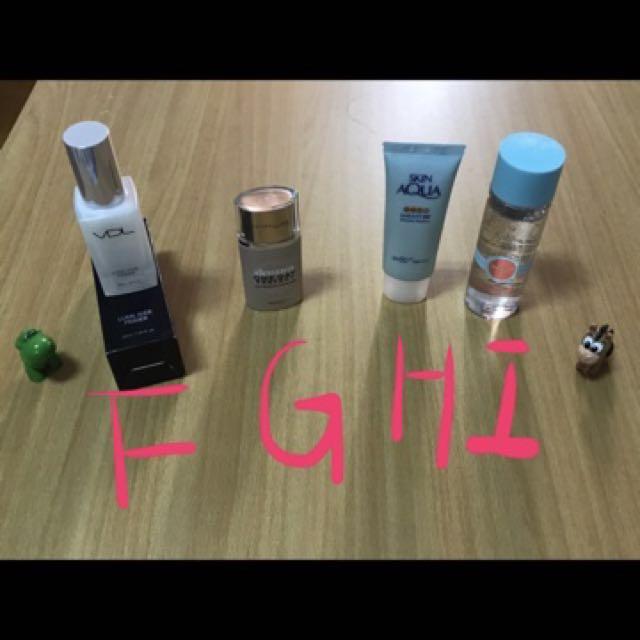 妝前乳/持妝乳/防曬/卸妝油