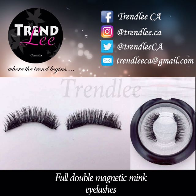 ‼️ FULL MINK DOUBLE MAGNET LASHES ‼️