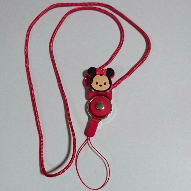 🆕 Minie Mouse Lanyard #2 (Red)