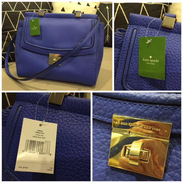 💼 New with tag Kate Spade tallulah purse handbag bag Retail $478+tax