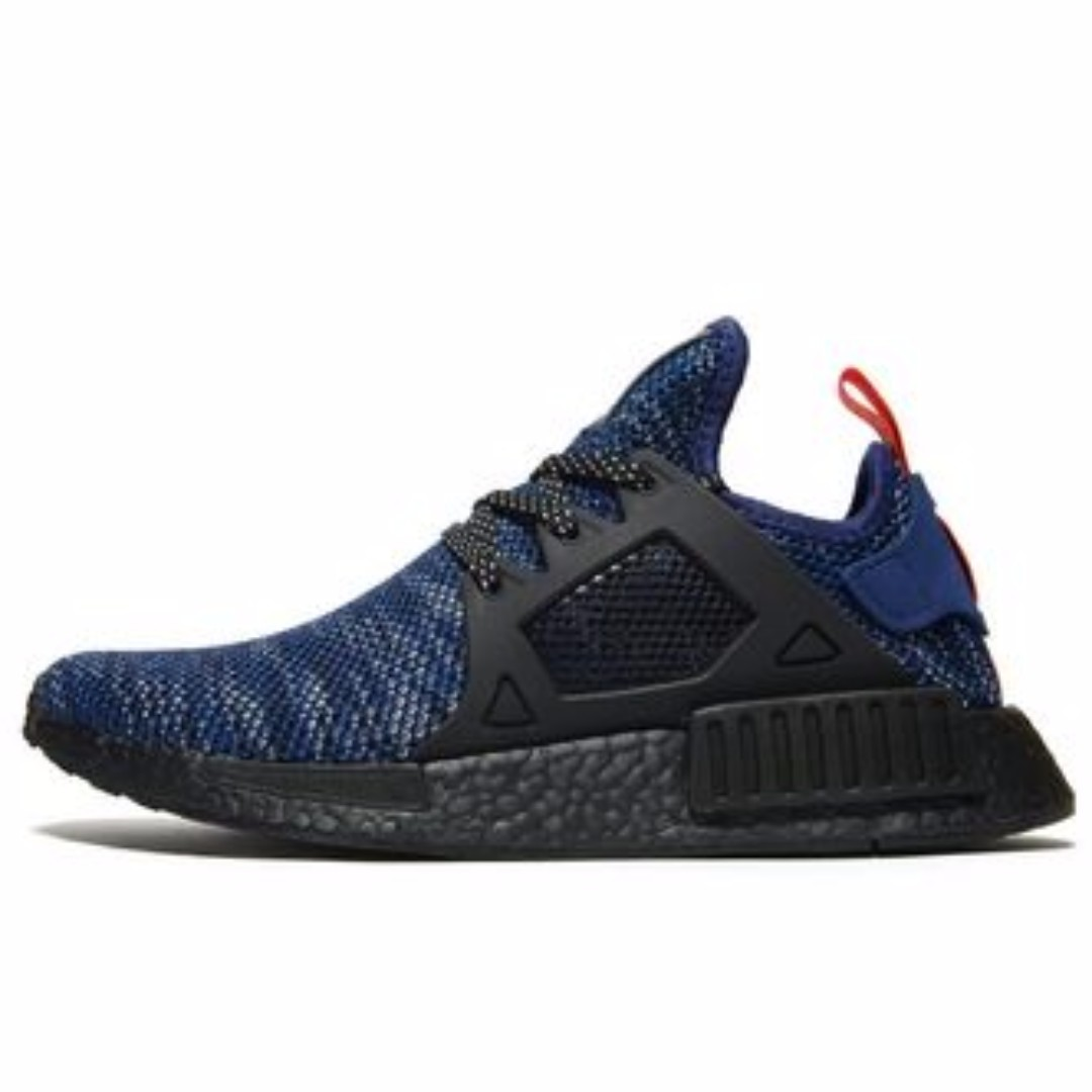 139c511d0 ... discount adidas nmd xr1 blue black boost sole mens fashion footwear on  carousell d3641 544ed