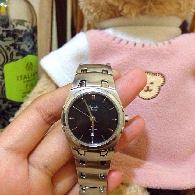 alexandre christie sapphire classic watch