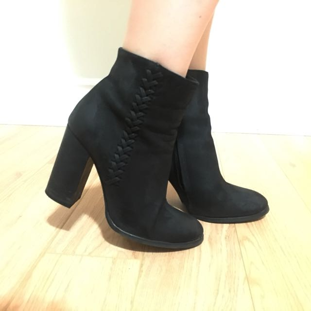 Allsaints nubuck leather boots