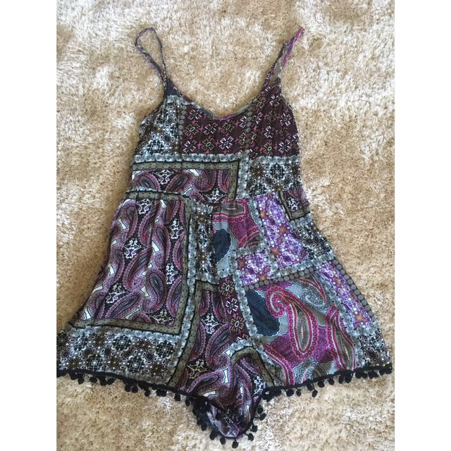 Ally Fashion Summer Playsuit Size 8