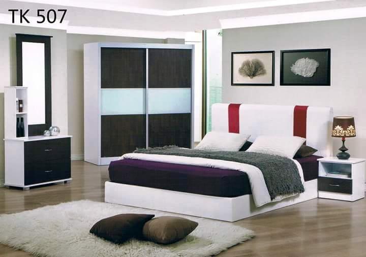 Ansuran Bulanan Murah Set Bilik Tidur 5 Dalam 1 Model Tk507 Home Furniture On Carou