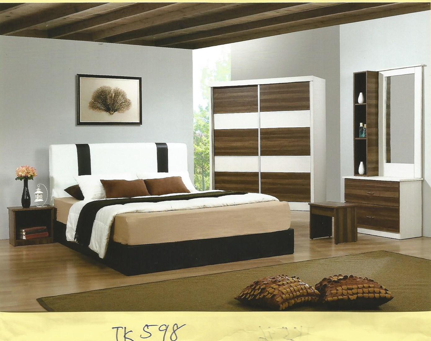 Ansuran Bulanan Murah Set Bilik Tidur 5 Dalam 1 Model Tk598 Home Furniture On Carou