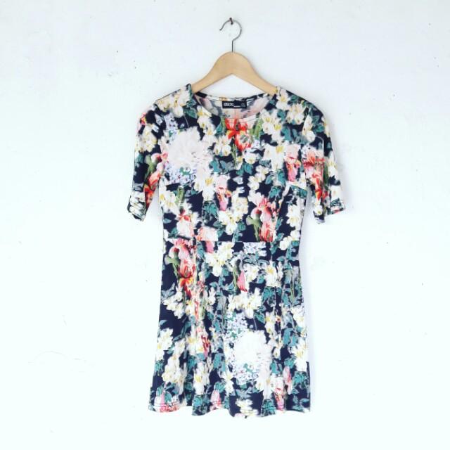 Asos Floral Casual Dress