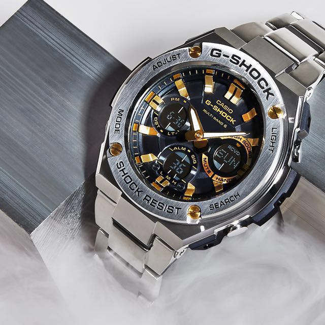 Authentic Brand New Casio G Shock G Steel Gst S120d 1a9 Bracelet