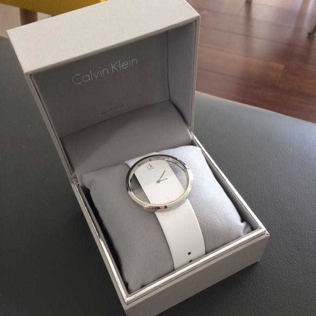 Authentic Calvin Klein Female Watch in White