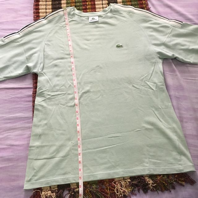 Authentic lacoste sport shirt size 4