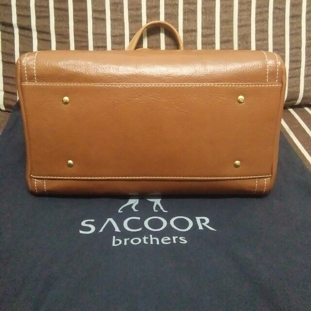 Authentic Sacoor Brothers Calf Leather Handbag