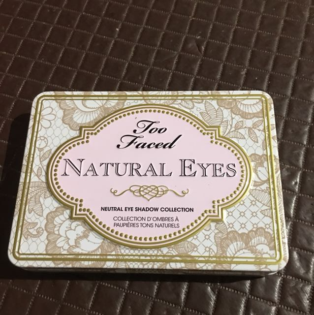 Authentic Too Faced Natural Eyes Palette