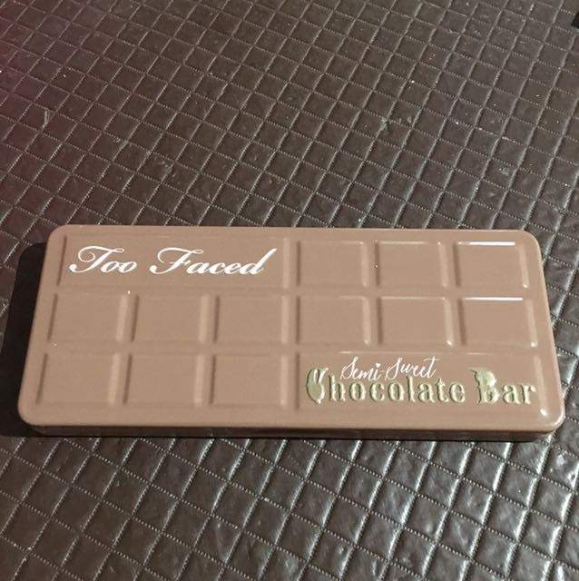 Authentic Too Faced Semi Sweet Chocolate Bar Palette