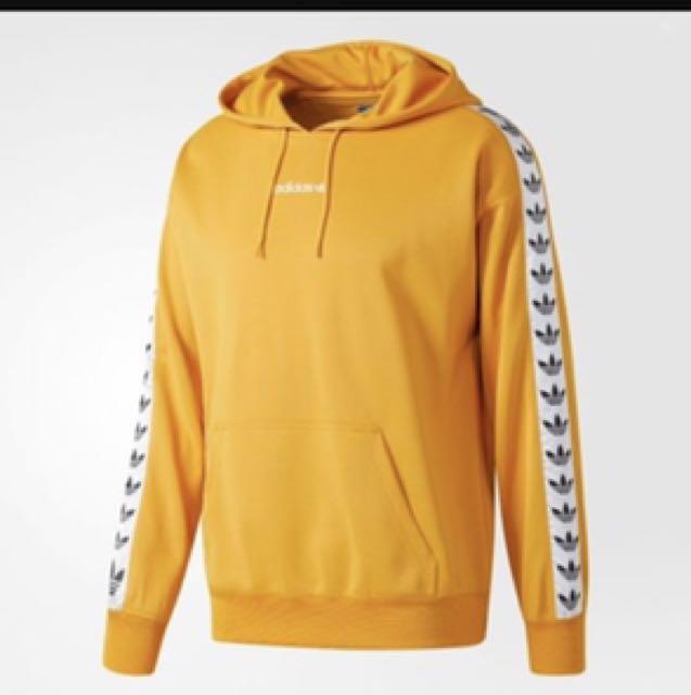 adidas tape hoodie