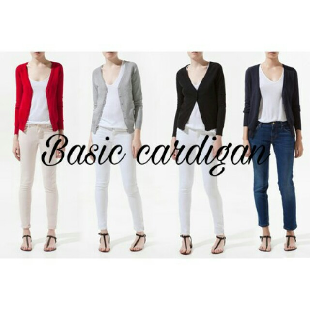 Basic cardigan XL