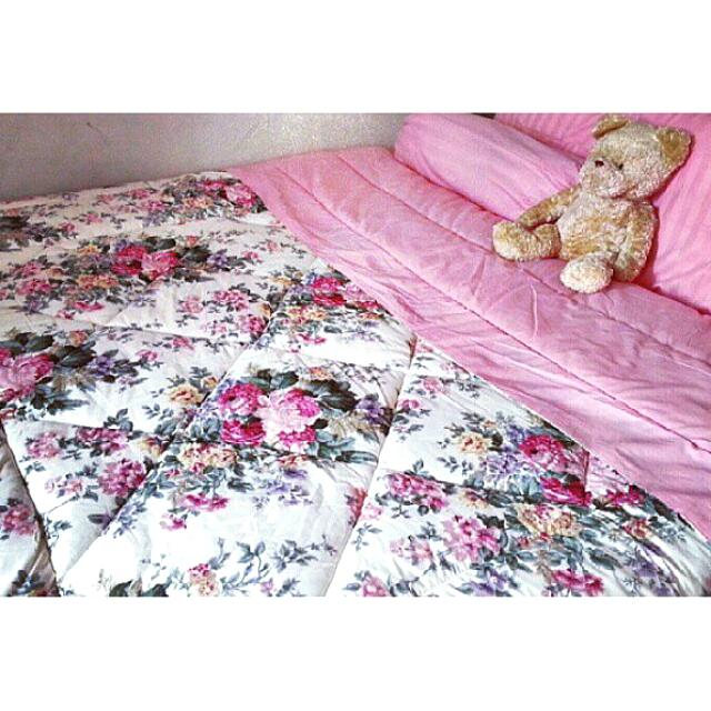 Sprei Bed Cover Set Shabby Chic Import