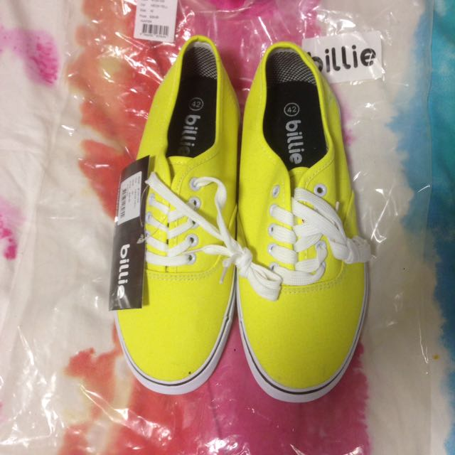 Billie Yellow Shoes - Size 42
