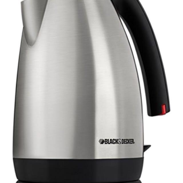 Black & Decker JKC650 Smart Boil 1-2/3-Liter Electric Kettle