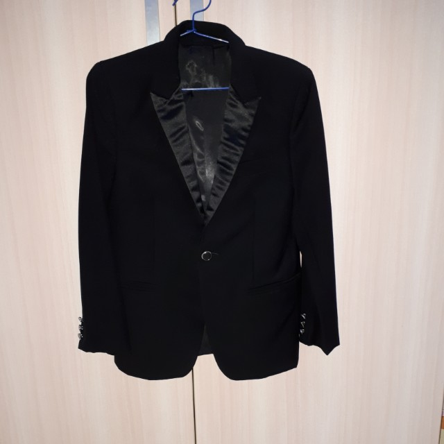 Black formal suit