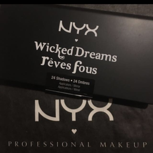 Bnew NYX Wicked Dreams Rèves Fous Eyeshadow Palette