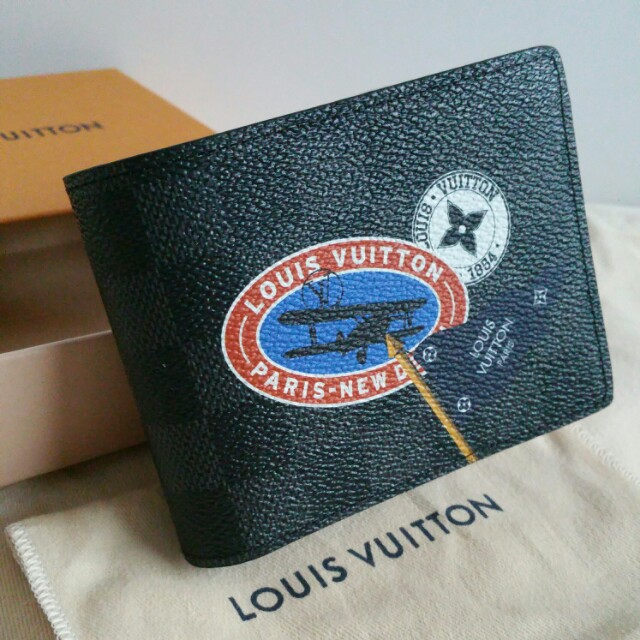 BNIB Louis Vuitton LV Multiple Wallet Damier Graphite Limited Edition,  Luxury, Bags   Wallets on Carousell 7fa4201563