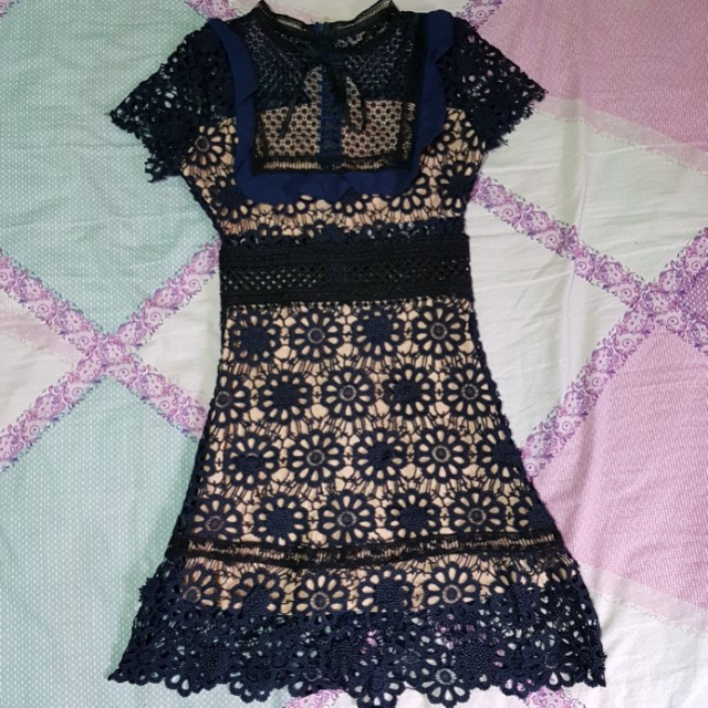 BNWT Self Port Ins dress