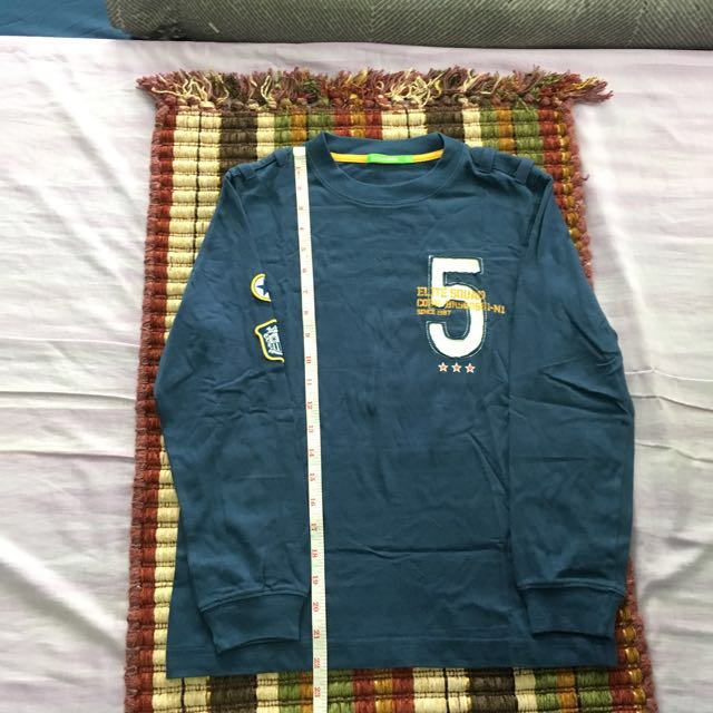 Bossini kids blue long sleeves size 140