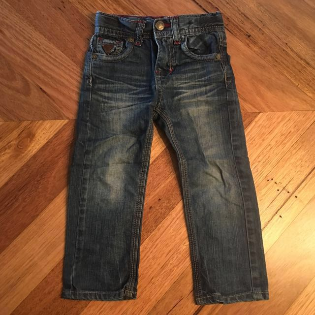 Boys Guess Lincoln slim skinny jeans, size 2 T