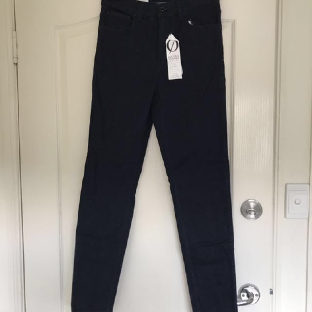 Brand new with tags silent theory jeans. The Cindy, min rise skinny jean. Comfort stretch. Dark blue. Original price $59.99.