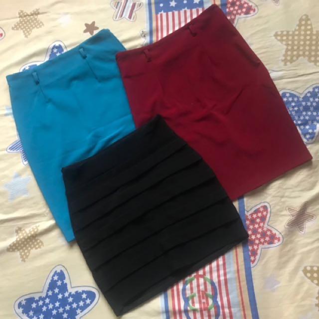 Bundle Bandage Skirt