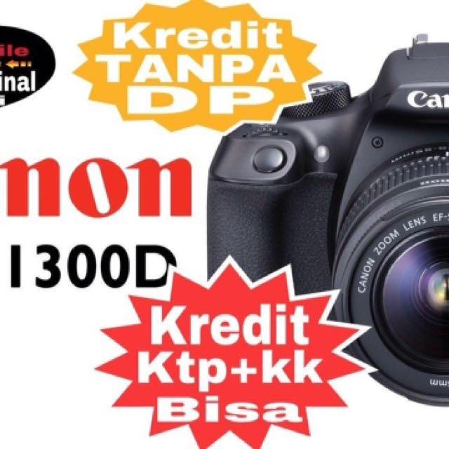 Canon 1300D kredit tanpa Dp