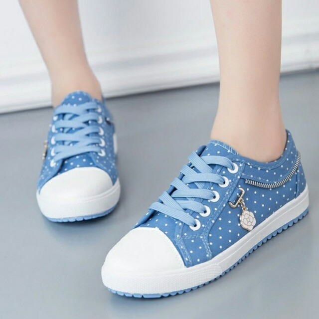 Canvas Casual Lace Up Shoes Pre Order Shipping Takes Abt Week Plus - Abt shoes