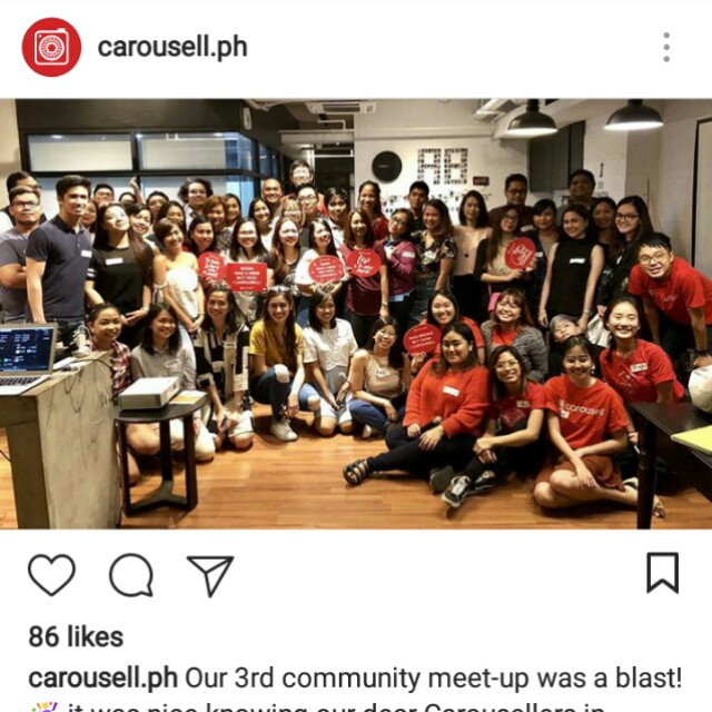 Carousell Community Meet-up 👑