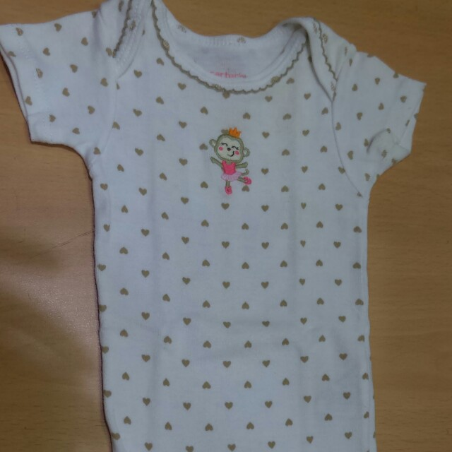 Carter's newborn onesie for baby girl