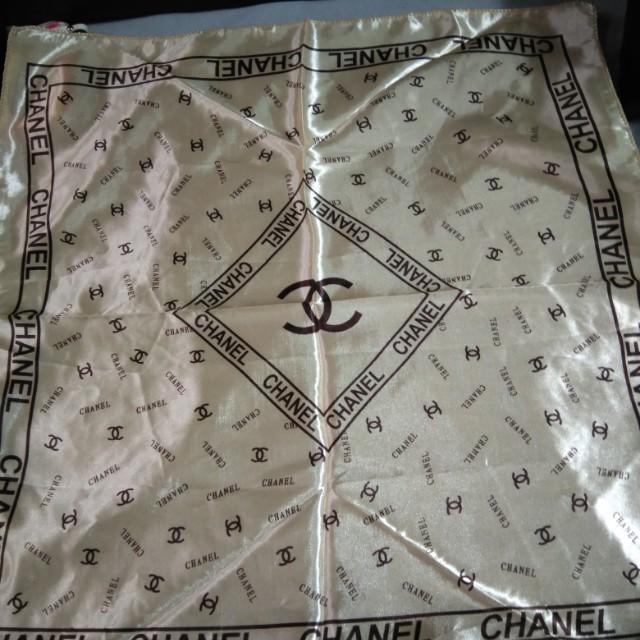 Chanel造型絲巾
