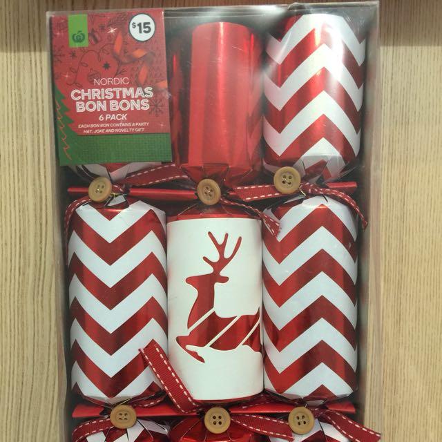 Christmas bon bons 6 pack