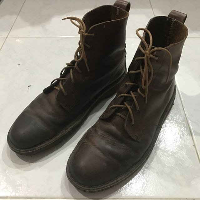 55eb1e34 Clarks Desert Mali Lace Up Boots, Men's Fashion, Footwear on Carousell