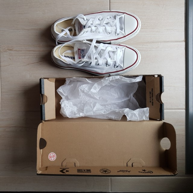 Converse Chuck Taylor All Star Lo Sneakers Optic White