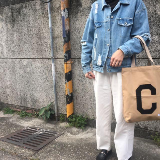 Covernat 韓國🇰🇷手提入台 帆布包