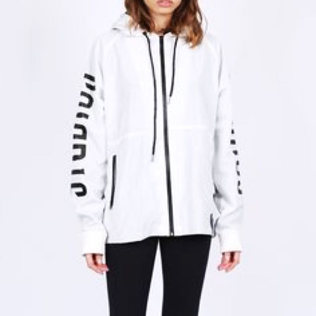 DEAD STUDIOS WHITE RUNNER JACKET
