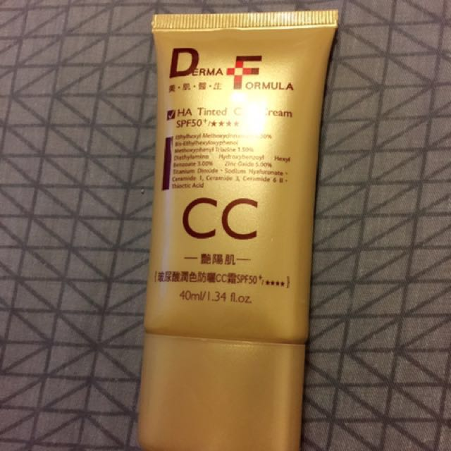 DF美肌醫生-坡尿酸潤色防曬CC霜SPF50
