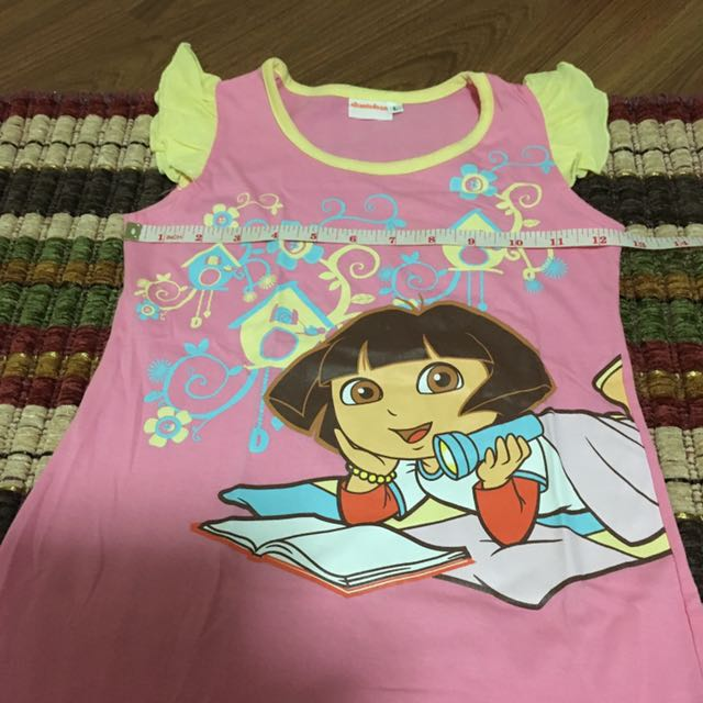 Dora the explorer dress/sleepwear large