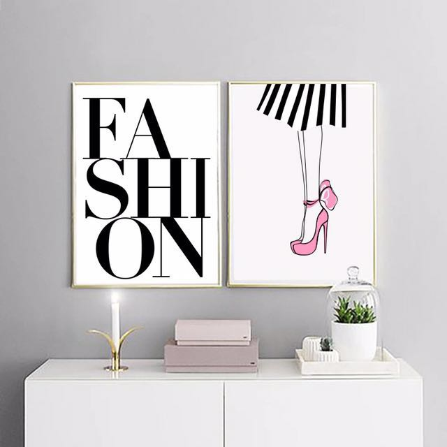 Fashion canvas print