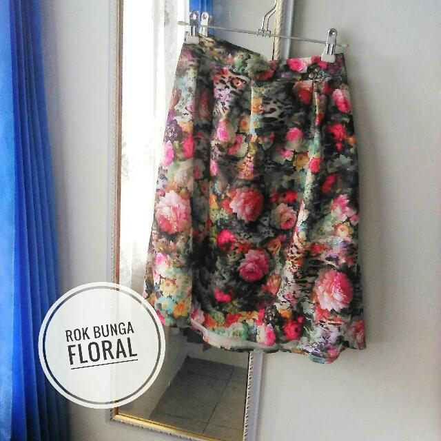 Rok Floral Bunga