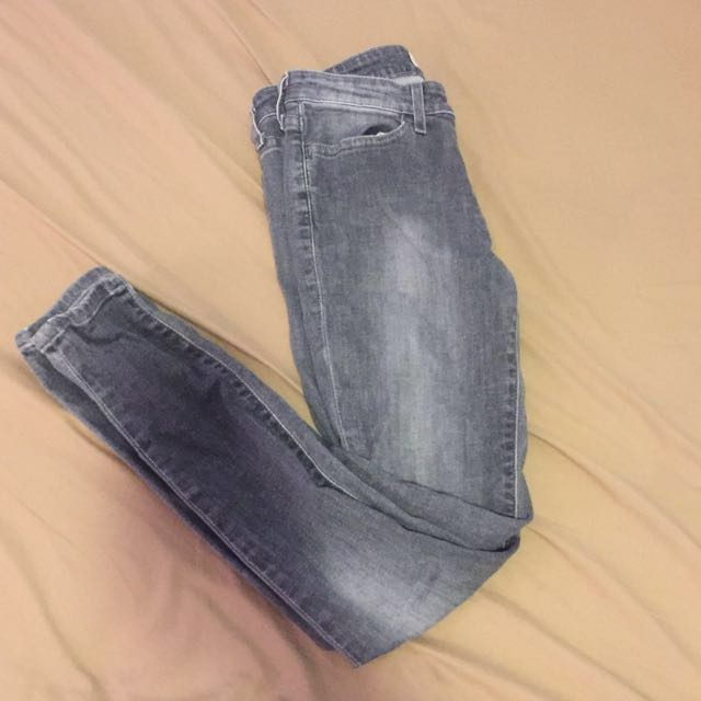 Grey Levi's jean leggings