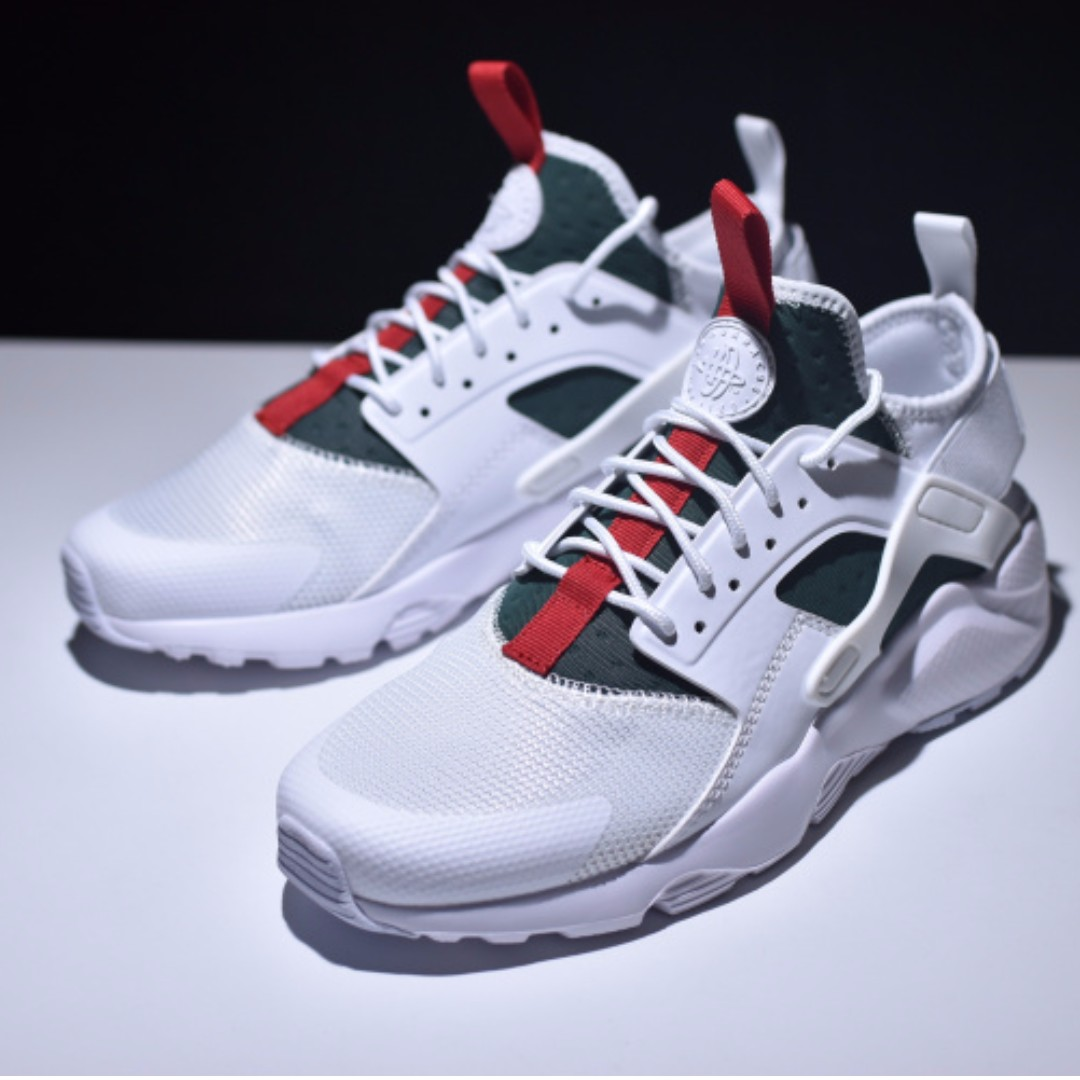 79286ef7809ee9 Gucci X Nike Air Huarache Ultra Flyknit ID Retro Running Shoes ...