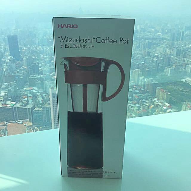 HARIO 紅色冷泡咖啡壺 1000ml MCPN-14R
