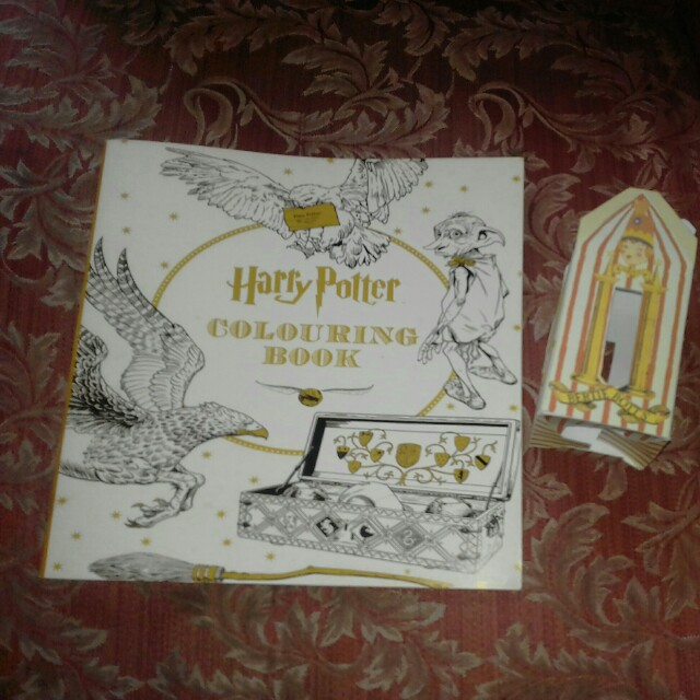 HARRY POTTER Coloring Book Books On Carousell