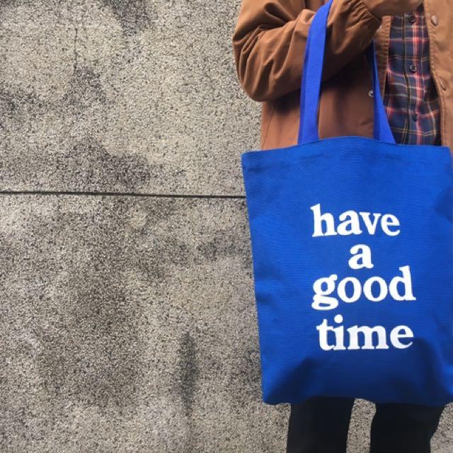 Have a good time 帆布包 🇰🇷韓國手提入手
